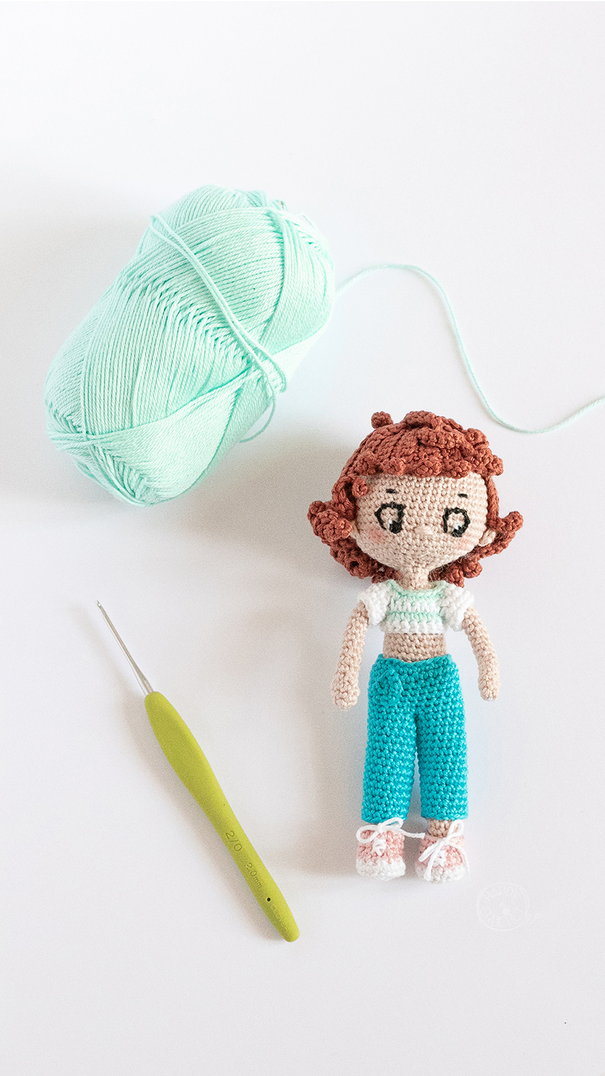 Eileen la poupée amigurumi au crochet