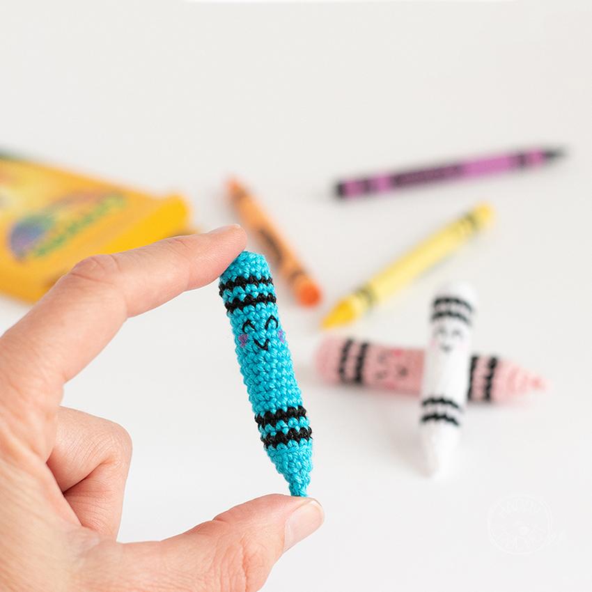 Amigurumi-Crayon-au-Crochet
