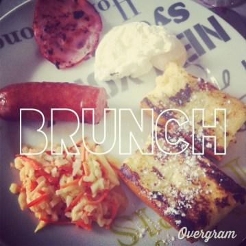 instagram brunch oeuf poché saucisse montbeliard coleslaw