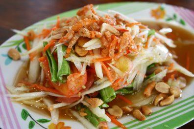 Salade Som Tam, Happy Curry