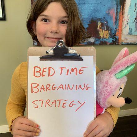 Do you teach your kids to negotiate?