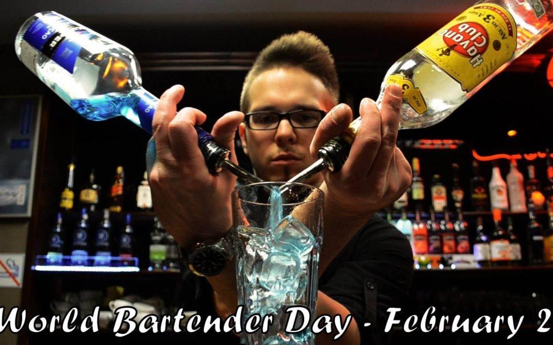 World Bartender Day – February 24, 2021