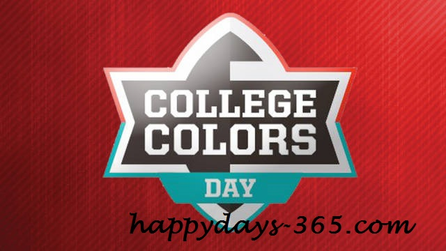 College Colors Day – September 1, 2017