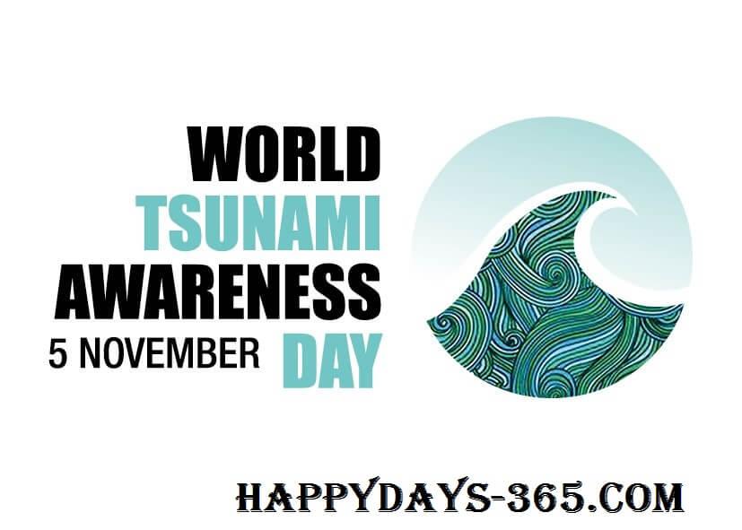 World Tsunami Awareness Day – November 5, 2019