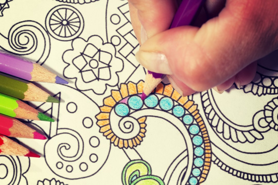 Coloring Book Day - August 2