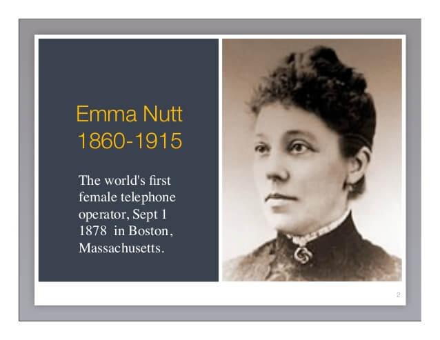 Emma M Nutt Day