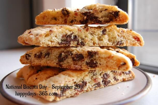 National Biscotti Day – September 29, 2019