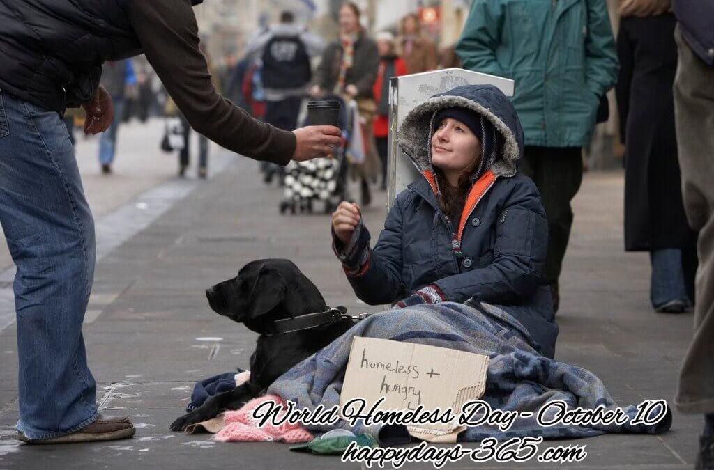 World Homeless Day – October 10, 2019