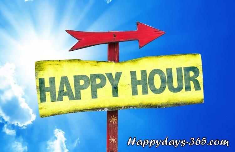 National Happy Hour Day – November 12, 2019