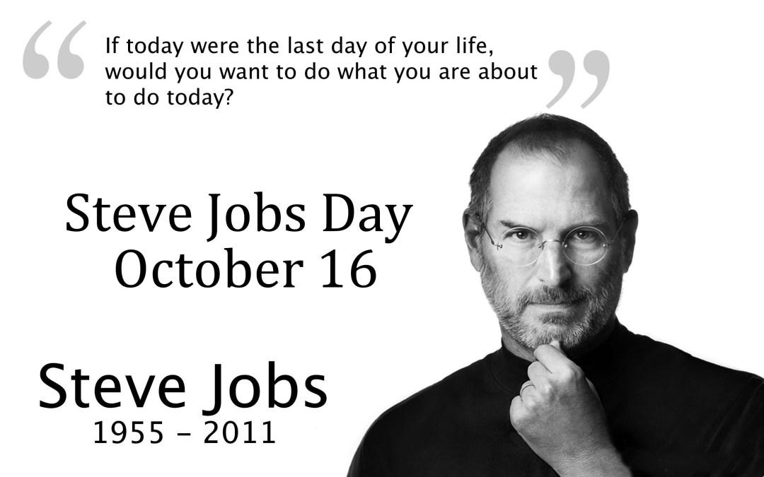 Steve Jobs Day – October 16, 2020