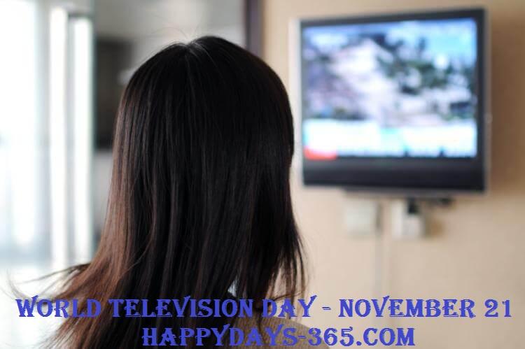 World Television Day – November 21, 2019