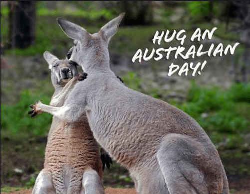 National Hug an Australian Day