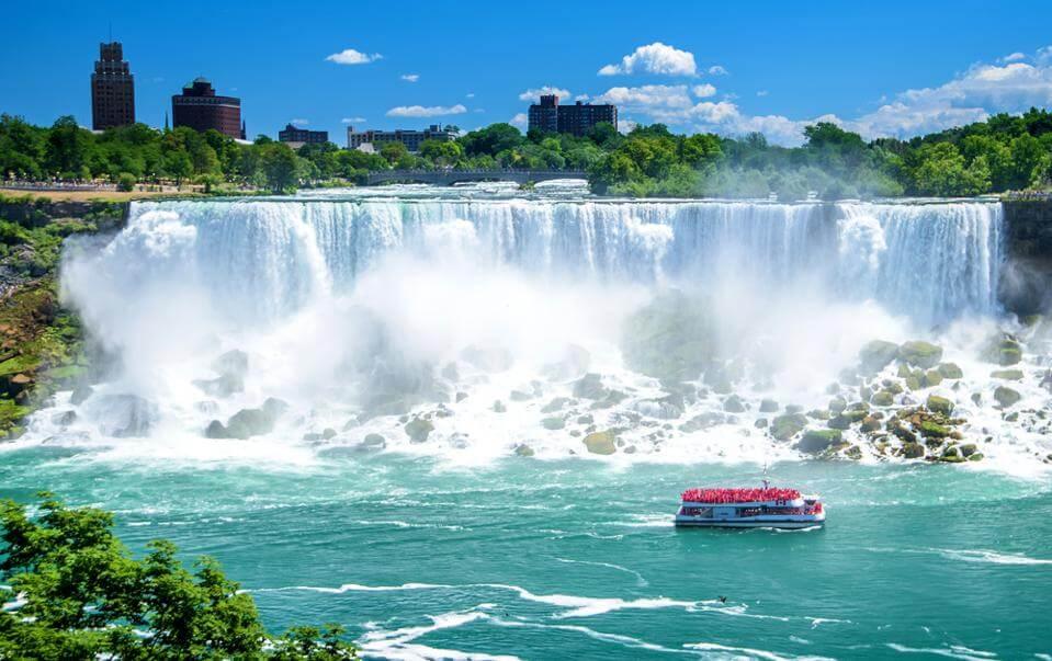 Niagara Falls Runs Dry Day – March 29, 2021