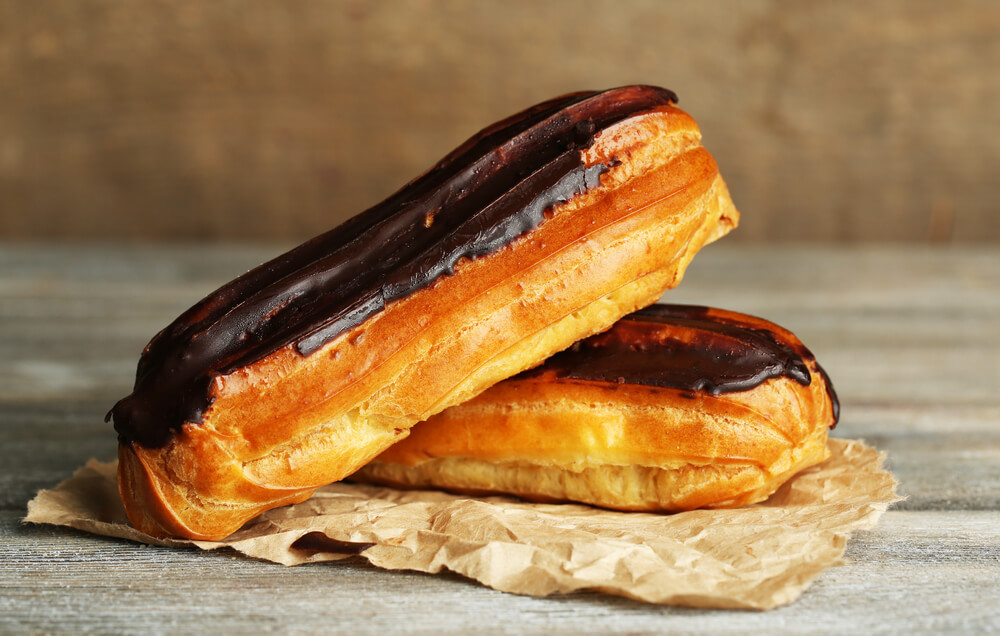 National Chocolate Eclair Day – June 22, 2020