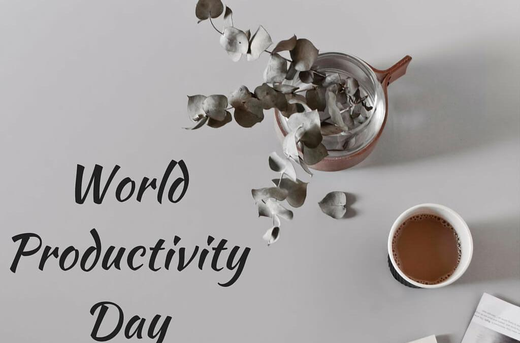 World Productivity Day – June 20, 2020