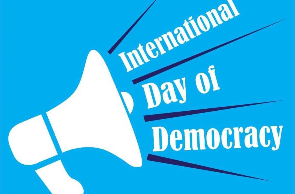International Day of Democracy – September 15, 2020