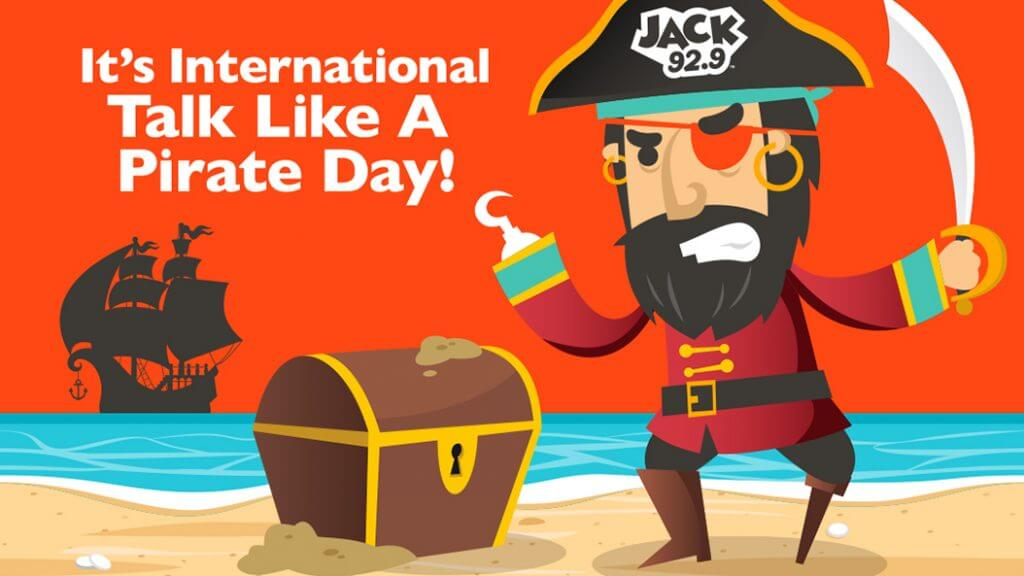 Talk Like A Pirate Day – September 19, 2020