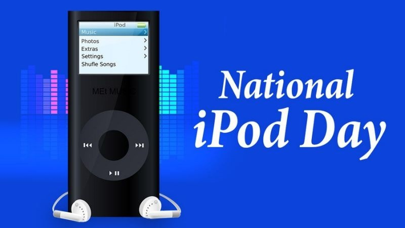 National iPod Day – October 23, 2020
