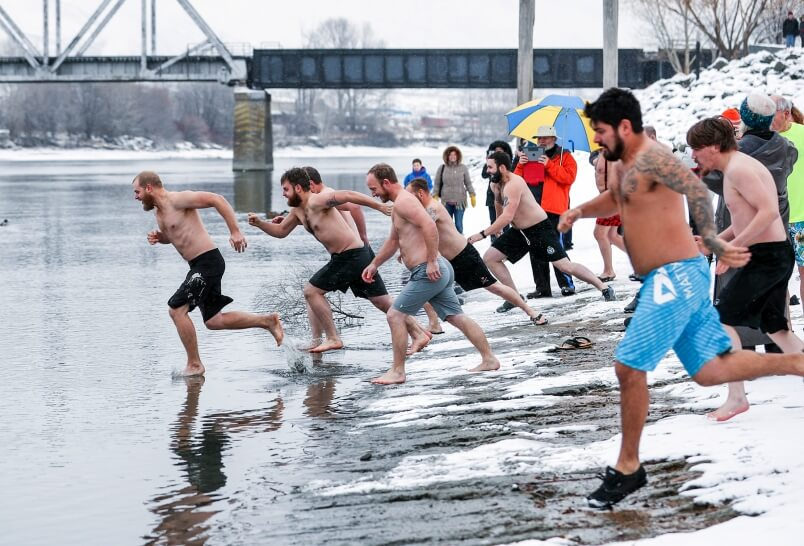 Polar Bear Swim Day – January 1, 2021