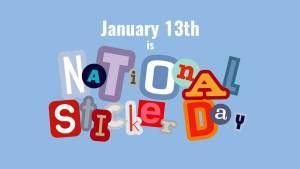 National Sticker Day