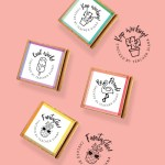Cool icons 4-pack Stamps