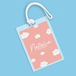 Cloudy Paradise Name Tag