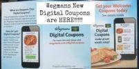 Wegmans Digital Coupons:  10 New Coupons on Their App!