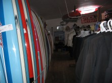 Many Surf Tech tuflite and poly boards in stock