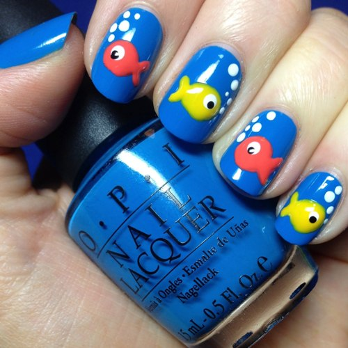 easy 4th of July nails ideas