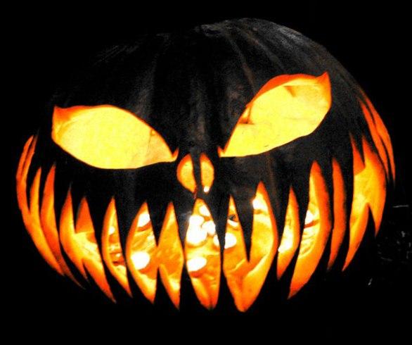 Scary Halloween Pumpkin Carving
