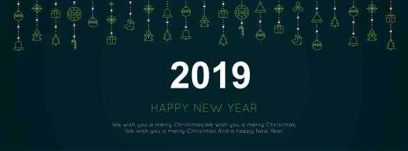 Merry Christmas Happy New Year 2019 Images