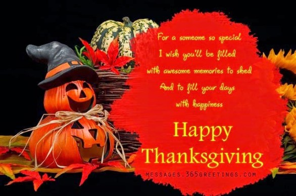 thanksgiving day wishes quote