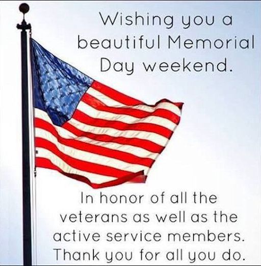 Memorial Day Thank You Images