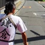 【赤ちゃん&子連れ旅行】鎌倉観光コース1:江ノ電~人力車で鶴岡八幡宮へ