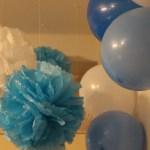 1歳誕生日会の飾り付けアイディア!100均のポンポンフラワーの作り方
