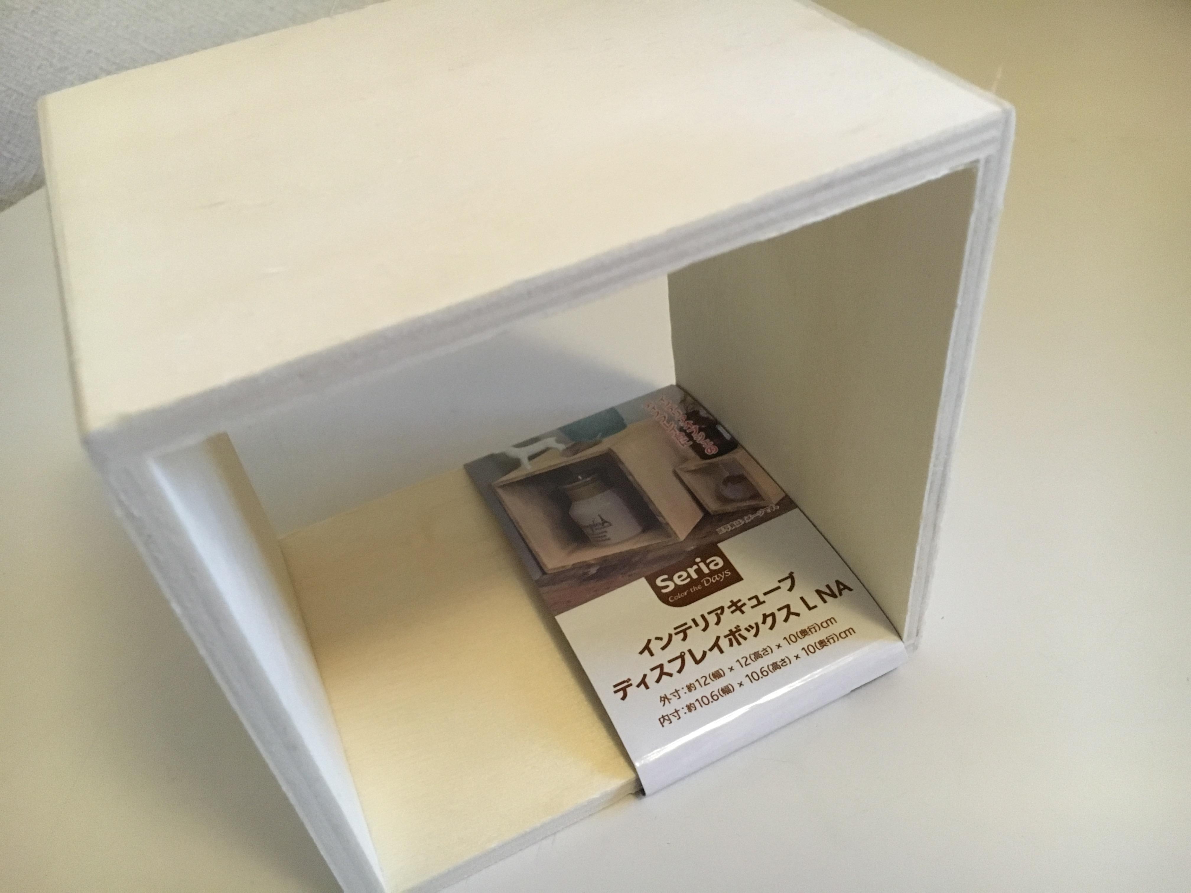 セリアインテリアボックス