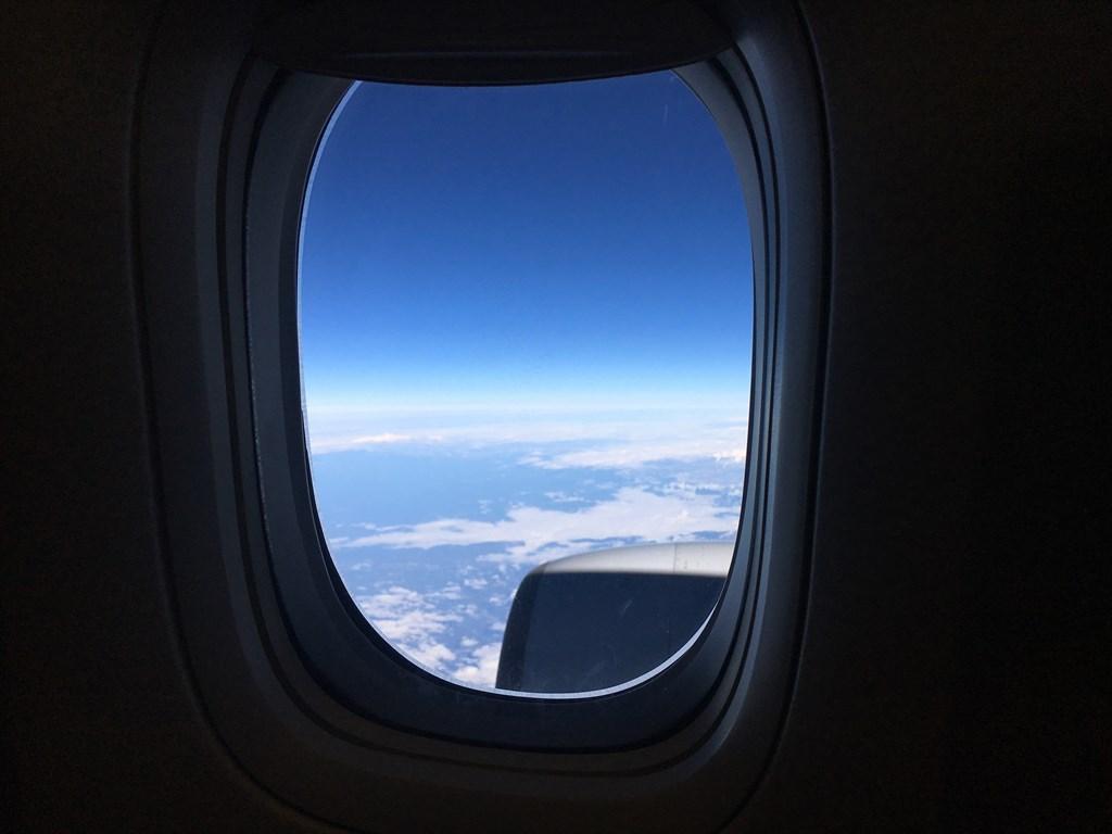 沖縄旅行飛行機