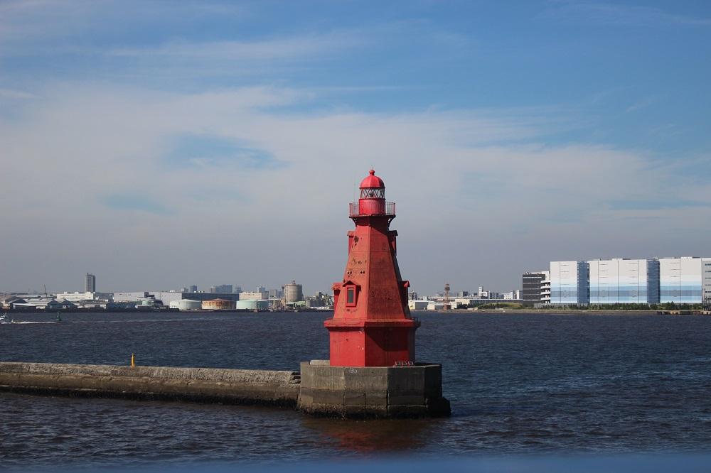マリーンシャトル赤灯台