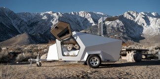 The New Polydrops Camper Pairs Perfectly With Electric Vehicles