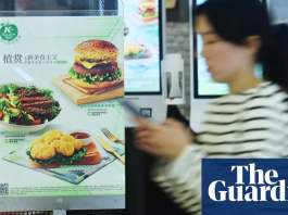 China's appetite for meat fades as vegan revolution takes hold