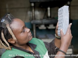 Kenyan Materials Engineer Recycles Plastic Into Bricks That Are Stronger Than Concrete
