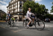 In France, you could soon swap your old car for an electric bike