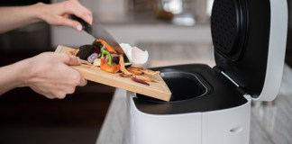 Products Fertilizer Retail Tabletop device helps transform food waste into plant food
