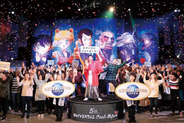 クールジャパン開幕セレモニー マスコミ向け特別イベント