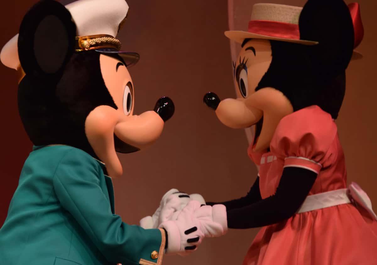 ミッキーとミニーちゃん