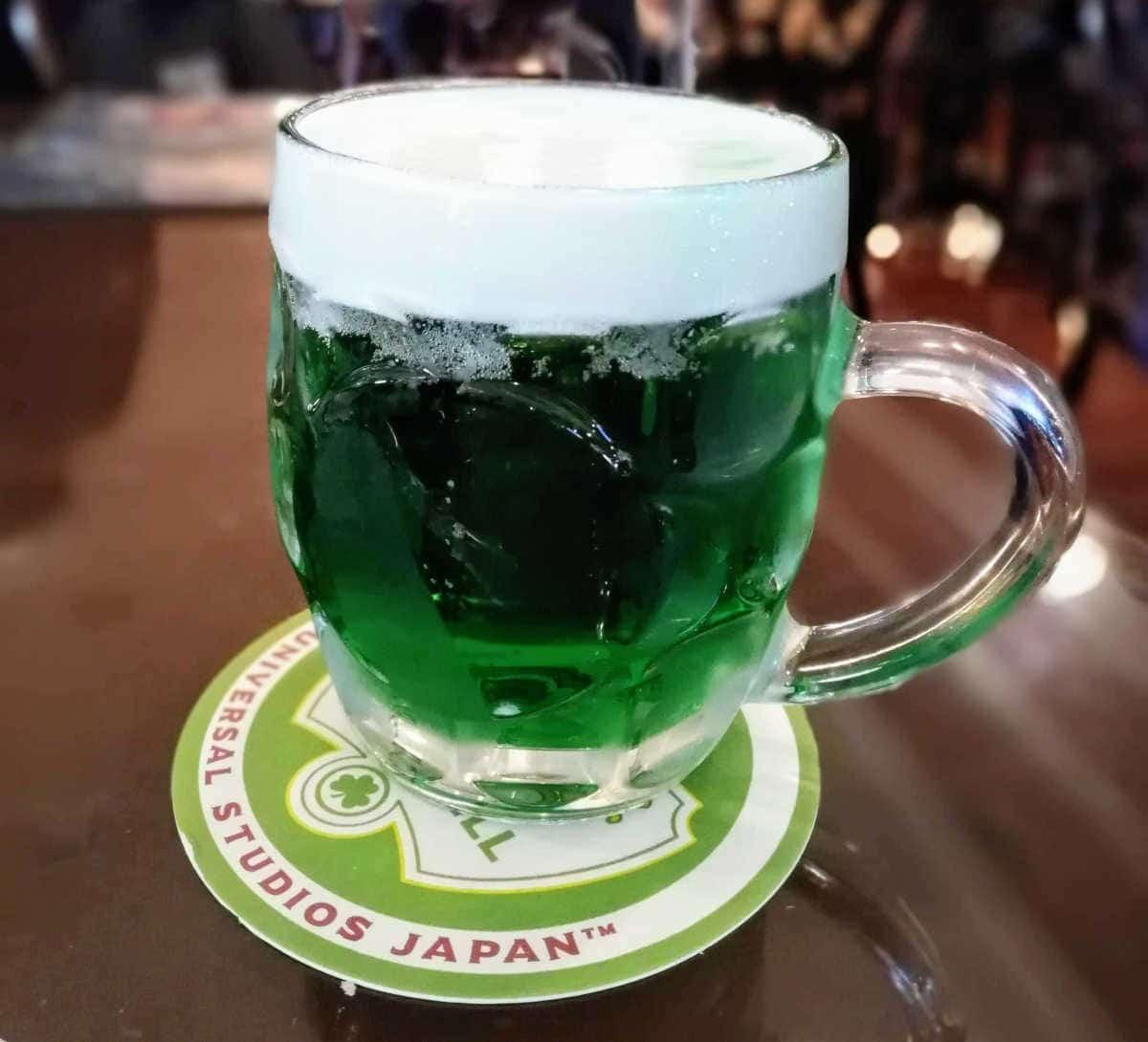 グリーンビールUSJ