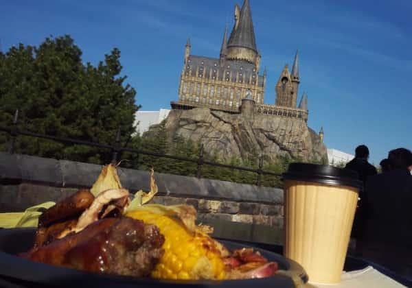 料理とホグワーツ城