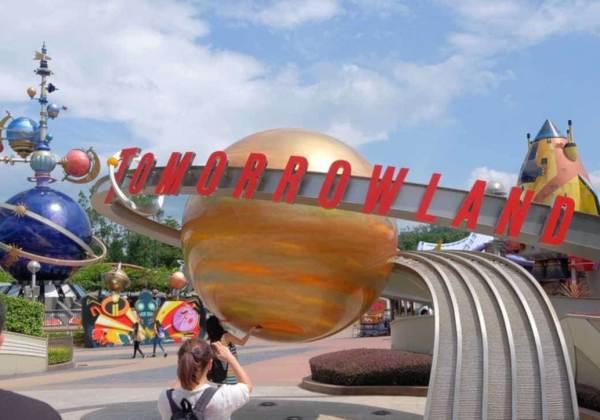 トゥモローランド 上海ディズニーランド