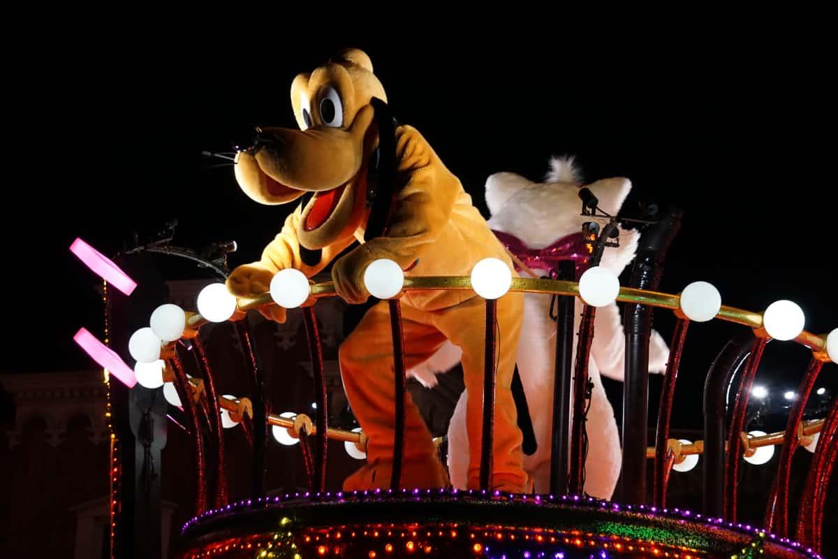 東京ディズニーランド・エレクトリカルパレード・ドリームライツのプルート