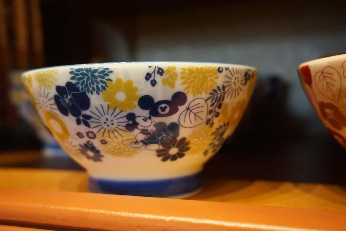 青の茶碗 ミッキー
